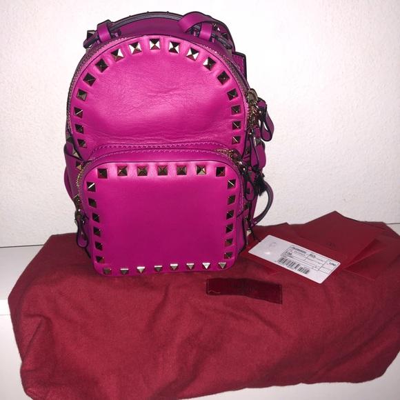 d21dbb1d0e Valentino Garavani Bags | Rockstud Mini Backpack | Poshmark